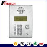 산업 강철 전화 Knzd-03 무선 전화 스테인리스 엘리베이터 전화