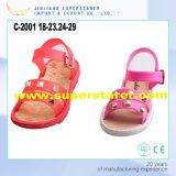 Классика маленьких девочек ягнится сандалии младенца сладостные симпатичные с украшениями металла