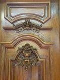 Natur-festes Holz-Tür-Großverkauf-Eintrag-Haustür (XS2-008)