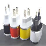 이동 전화 EU 저희 플러그 Samsung iPhone 여행 벽 충전기를 위한 휴대용 USB 접합기 충전기