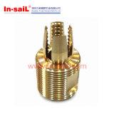Bucha de bronze do torno do CNC do cobre do aço inoxidável no fornecedor da fábrica de China