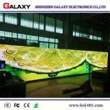 Pequeña muestra fija de interior de la visualización de LED de la echada HD del pixel P1.875/P1.904