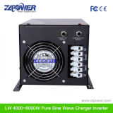 Lw6000W grande display LCD inversor de onda sinusoidal puro