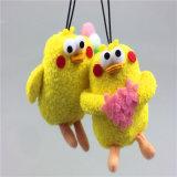 Pollo pendiente de la felpa de la felpa del juguete de la felpa del Ins