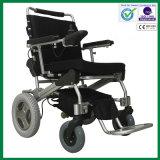 Sedia a rotelle pieghevole di potere del motore dorato/sedia a rotelle elettrica, piegatura 1second