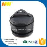 Zwarte Nylon Dubbele Toiletry van de Make-up van de Cilinder van de Ritssluiting Kosmetische Zak