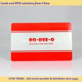 Cartão de plástico com cartão de impressão Dod / Ean13 para cartão de fidelidade