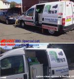 Equipamento de lavagem do carro móvel CCS1500 carro hidrogénio carbono de Limpeza do Motor