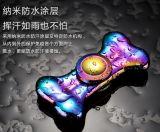 De grote Vinger van de Legering van het Aluminium van Handspinner van het Metaal van de Driehoek van de Voorraad friemelt de Spinner van het Stuk speelgoed