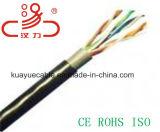 Кабель аудиоего разъема кабеля связи кабеля данным по кабеля испытания 305m/Computer двуустки пропуска кабеля LAN 24AWG UTP Cat5e