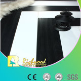 E0 de 12,3 mm de HDF AC4 hayas grabado filo encerado piso laminado