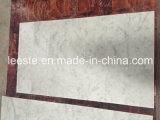 Controsoffitto di marmo bianco di superficie solido caldo della cucina di Bianco Carrara