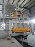 Linha de produção de lajes de quartzo artificial artificial completa para fazer máquina de imprensa de pedra