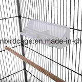 Gabbia di uccello del metallo della gabbia di uccello del pappagallo grande con 4 rotelle