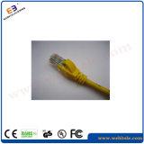CAT6Aのジャンパー線4*2*7/0.2cu UTPネットワークパッチケーブル