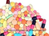 Haute efficacité pour le sucre Film-Coating Poreless comprimé pilule la machine