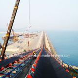 Convoyeur / convoyeur à courroie à grande inclinaison pour port / port de mer