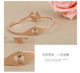 Braccialetto della farfalla dei monili di modo del braccialetto dei monili dell'acciaio inossidabile