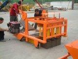Qmd4-45 Mobiele de Laag van het Ei van de Dieselmotor Geen Concreet Blok die van de Pallet van de Behoefte Machine maken