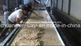 材料を厚くするか、または排水するための真空ベルトか鉱山またはスラリーフィルター
