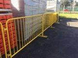 Barrera galvanizada movible del control de muchedumbre del metal para el acontecimiento