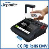 7 인치 접촉 EMV 승인되는 POS 시스템 카드 지불