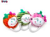 Оптовые цены на мягкие монстр щенок игрушка в зеленый цвет с Squeaker Bosw1062/10см