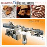 Tipo piano macchina completamente automatica dell'acciaio inossidabile di fabbricazione di biscotti della cialda