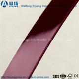 Bordure foncée de PVC de couleur solide pour des meubles d'Idoor