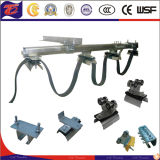 Galvanizado Sistema de carros portacables del cable plano