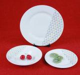 Articoli per la tavola di ceramica dell'insieme di pranzo di colore semplice di fabbricazione della Cina