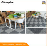 La pavimentazione del vinile copre le mattonelle col tappeto per la pavimentazione dell'interno di ginnastica delle mattonelle del vinile di ginnastica, mattonelle della moquette del PVC del vinile di uso del salone