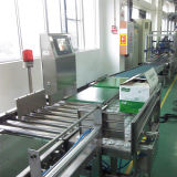 Liqueur Box Checkweigher com Pusher Rejector