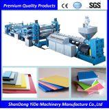 Scheda e linea di produzione composite di plastica di legno del comitato