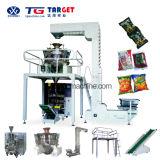 Station de fabrication unique 6 sac de machine d'emballage Premade granule