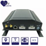 gravador de vídeo móvel de Digitas do veículo 8-CH com um disco rígido 3G interno, módulos do GPS para a frota de veículo