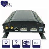 8 CH 차량 하드 디스크 붙박이 3G 의 차량 함대를 위한 GPS 모듈을%s 가진 이동할 수 있는 디지털 비디오 녹화기