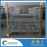 Foldable中断されたタイプ金網の容器