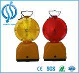 Seguridad LED parpadeante luz de advertencia de carretera barricada