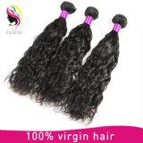 柔らかく、スムーズな毛の膚触りがよく自然な波の毛の人間の毛髪