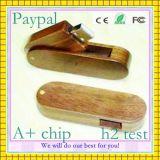 Диск USB оптовой продажи полной производственной мощности деревянный внезапный
