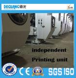 기계를 인쇄하는 공기 에너지 난방 8colors 260m/Min 전선 샤프트 윤전 그라비어