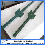 1.33 1.25 столбов зеленого цвета Bl стальных материальных обитых t
