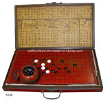 Chino de Arte Asiático de Antigüedades orientales Weiqi I-Go el ajedrez