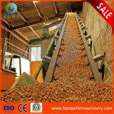 1-10t serradura de madeira a linha de pastilhas de fabrico aprovado pela CE