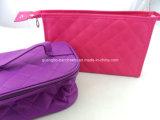 Sac cosmétiques à fermeture à glissière cadeau personnalisé pour dames de mode (GBBG300)