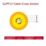 배급 단단한 버퍼 광학 섬유 케이블 (GJPFJV)
