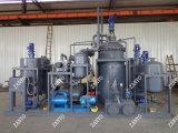 De Olie die van het afval aan de Installatie van de Distillatie van de Diesel barsten