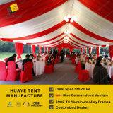 500 de Tent van het Huwelijk van mensen met de Muur van het Glas
