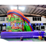 Ninja Turtle Inflatable SlideかChildrenのInflatable Slide